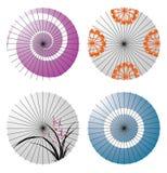 Japanese umbrella Royalty Free Stock Photos