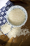 Japanese uncooked rice Stock Photos