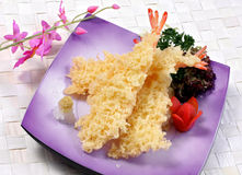 Japanese Vegetable tempura Stock Images