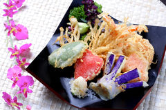 Japanese Vegetable tempura Royalty Free Stock Image