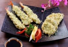 Japanese Vegetable tempura Royalty Free Stock Photography