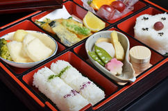 Japanese vegetarian lunch box Stock Photography