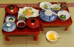 Japanese Vegetarian Meal royalty free stock image