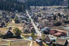 Japanese village Shirakawago Stock Images