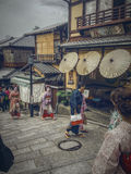 Japanese village Royalty Free Stock Photography