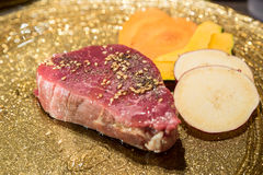 Japanese wagyu fillet yakiniku Royalty Free Stock Photos