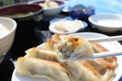 Japanese wanton delicious in asia Royalty Free Stock Photos