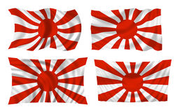 Japanese war flag stock photo