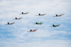 Japanese War Planes Stock Photography