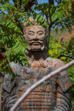 Japanese warrior figure Stock Photography