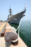 Japanese warship Royalty Free Stock Photography