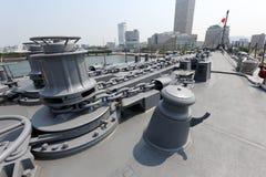 Japanese warship Royalty Free Stock Images