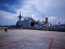 Japanese warships Royalty Free Stock Photography