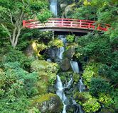 Japanese Waterfall Stock Photo