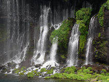 Japanese waterfall Shiraito Royalty Free Stock Photos