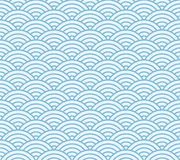 Japanese wave pattern Royalty Free Stock Images
