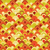 Japanese Wave Seamless Pattern Stock Photos