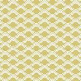 Japanese waves seamless pattern Royalty Free Stock Photo