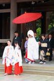 Japanese Wedding ceremony Stock Image
