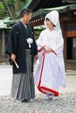 Japanese Wedding ceremony Royalty Free Stock Images