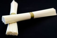 Japanese wheat noodles Stock Photography
