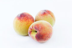 Japanese white peaches Stock Photography