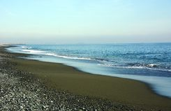 Japanese Winter Beach Royalty Free Stock Images