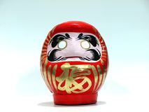 Japanese Wish Doll (Daruma). This is a very popular Japanese wish doll (Daruma). You can make a wish by marking one of its' eye. When the wish comes thru, mark Royalty Free Stock Image