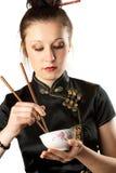 Japanese woman. Royalty Free Stock Photos