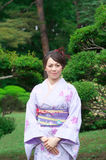 Japanese Woman Royalty Free Stock Photo