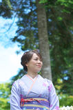 Japanese Woman Royalty Free Stock Images