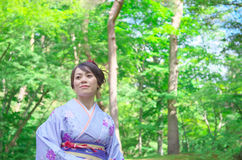 Japanese Woman Stock Images