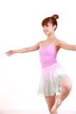 Japanese woman dances ballet Stock Photos
