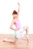 Japanese woman dances ballet Stock Photo