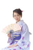 Japanese woman in a Kimono Stock Photography