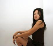 Japanese Woman Posing Stock Photos