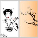Japanese woman Stock Photo