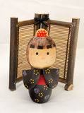 Japanese Wooden Doll Royalty Free Stock Image