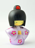 Japanese Wooden Doll Royalty Free Stock Images