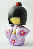 Japanese Wooden Doll Stock Images