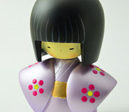 Japanese Wooden Doll Royalty Free Stock Photos