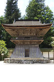 Japanese wooden guard tower Royalty Free Stock Photos