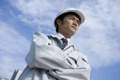 Japanese worker Royalty Free Stock Image