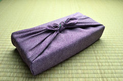 Japanese wrapping cloth Stock Images