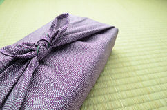 Japanese wrapping cloth Stock Photos