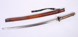 Japanese WW11 Shin Gunto NCO Katana. Sword. Stock Photography
