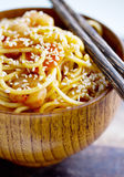 Japanese Yakisoba noodles Stock Photo