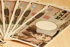 The Japanese yen. Notes Currency from Japan Royalty Free Stock Photo