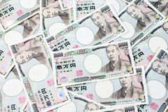 10000 Japanese Yen Bank Note. Heap of 10000 Japanese Yen Bank Note, money background vector illustration