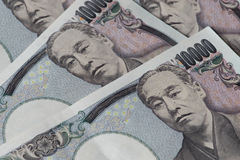 Japanese Yen banknote. Royalty Free Stock Photo
